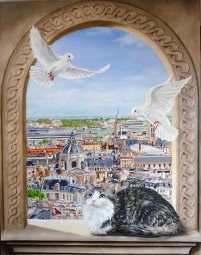 Elisabeth Delcenserie - Quartier latin