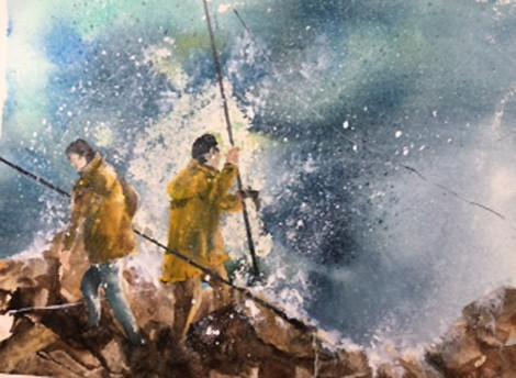 Sylvia Dafour - Contre vents et marées
