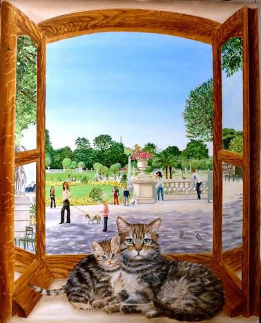 Elisabeth Delcenserie - Les chats du Luco