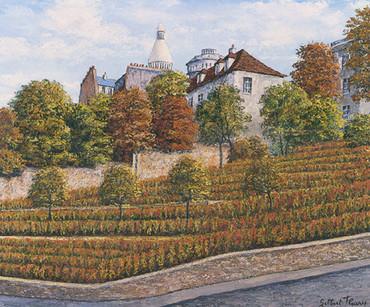 Gilbert Fleury - Les vignes de Montmartre