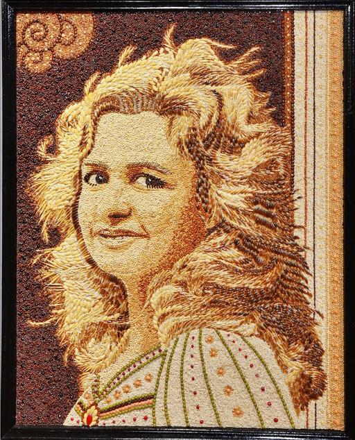 Autres techn. - M-Chr. Mangili - Autoportrait - Médaille de Bronze