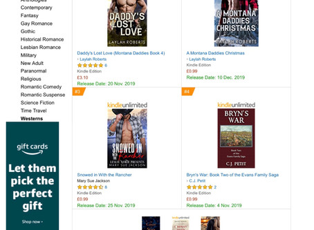 Thanks to my UK Readers!