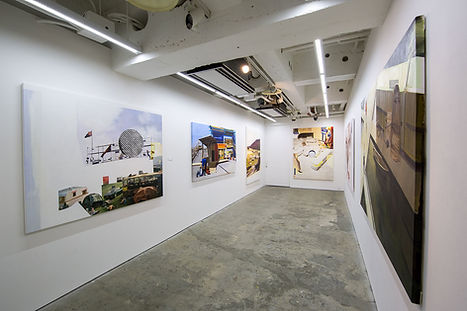 artiste zoer zoerism peinture a l huile figurative exposition l etat limite galerie hidari zingaro de takashi murakami tokyo
