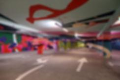 artiste zoer zoerism jaw dmv peinture plateforme art contemporain 2km3 saint gervais les bains france 2017