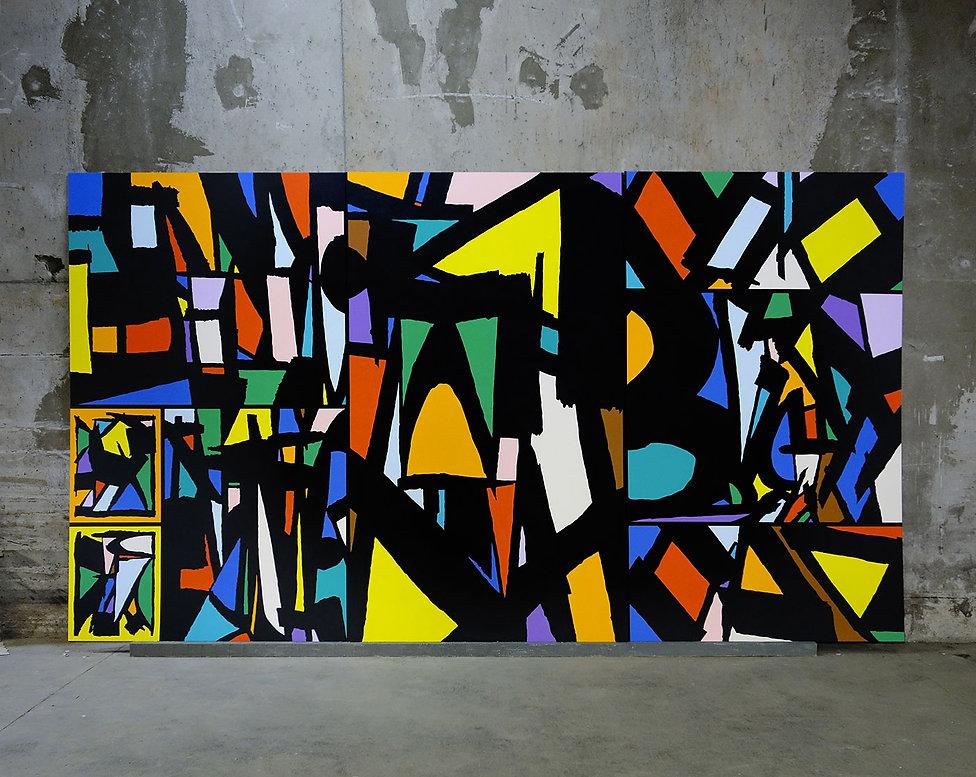 artiste zoer zoerism sobekcis peinture curateur plateforme art contemporain 2km3 saint gervais les bains france 2018