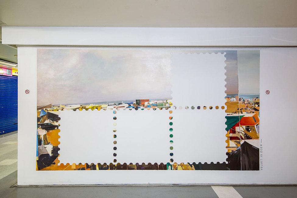 artiste zoer zoerism peinture à l huile figurative souvenirs disparus exposition etat limite hidari zingaro takashi murakami