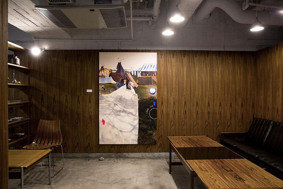 artiste zoer zoerism peinture a l huile figurative sleep apnea exposition galerie hidari zingaro takashi murakami japon