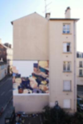 artist zoer zoerism fresque mural peinture acrylique realiste marche au mali les essences les plus cheres renne 2015