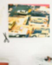 artiste zoer zoerism peinture figurative realiste die cast huile sur toile collection privee