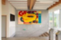 artiste zoer zoerism la frite peinture curateur plateforme art contemporain 2km3 saint gervais les bains france 2018