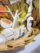 artiste zoer zoerism detail sculpture en couverture de survie exposition kaikai kiki de takashi murakami tokyo japon 2015