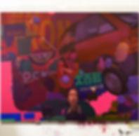 artiste zoer zoerism peinture figurative realiste collaboration sainer plastic psychedelic huile acrylique collection privee