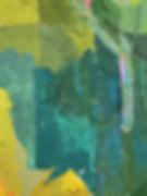 artiste zoer zoerism peinture contemporaine de maisons submergees par eau avec touche abstraite avec représentation réaliste