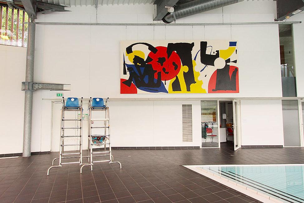artiste zoer zoerism irsut peinture curateur plateforme art contemporain 2km3 saint gervais france 2018