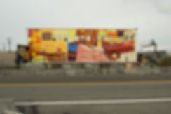 artiste zoer zoerism fresque murale peinture acrylique figurative sodo track seattle etats unis 2017