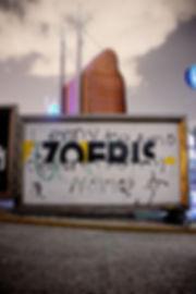 artiste zoer zoerism fresque mural urban art typography zoer absence monterey museum arts mexico 2013