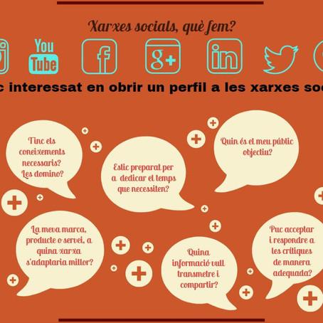 Xarxes socials, què fem?