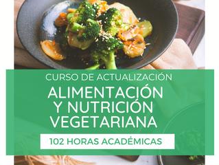 Curso de Alimentación y Nutrición Vegetariana