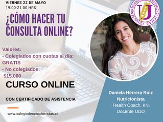 ¿Cómo hacer tu consulta online?