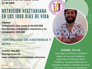 Curso: Nutrición vegetariana en los 1000 días de vida