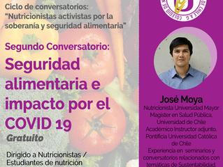 Segundo conversatorio: Seguridad alimentaria e impacto por el COVID - 19