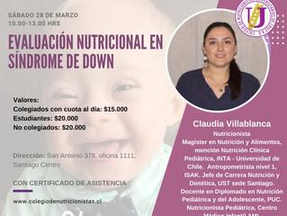 Curso de Evaluación Nutricional en Sindrome de Down
