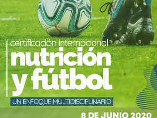 Curso de Nutrición y Fútbol