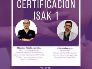 Certificación ISAK 1
