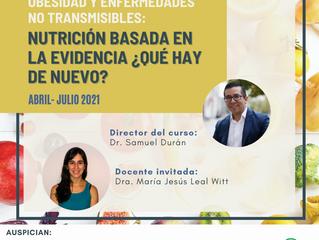 Curso online - Obesidad y ENT: Nutrición basada en la evidencia