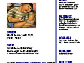 Curso OBESIDAD INFANTO-JUVENIL