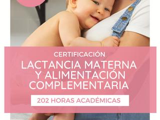 Curso de Lactancia Materna y Alimentación Complementaria