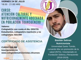Atención cultural y nutricionalmente adecuada en población transgénero.