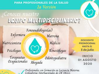 Formación de consejería en lactancia materna para profesionales de la salud.
