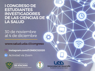 I CONGRESO NACIONAL DE ESTUDIANTES INVESTIGADORES DE LAS CIENCIAS DE LA SALUD