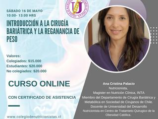 Curso de Introducción a la cirugía bariátrica y a la ganancia de peso