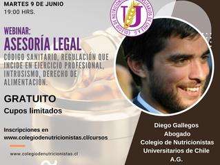 Webinar: Asesoría Legal