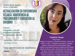 Curso de Actualización en enfermedad celíaca: Adherencia al tratamiento y educación al entorno