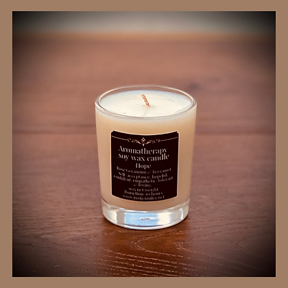 Masculine Scents - Small Glass Candle 20 Hours