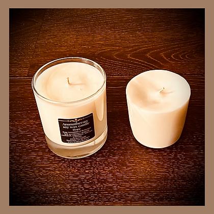 Medium Glass Candle Refill