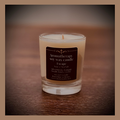 Fresh Scents - Small Glass Candle 20 Hours