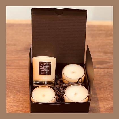 Scented Votive Candle Gift Set