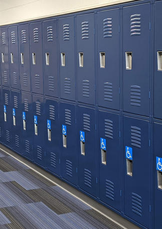 Andover High Lockers