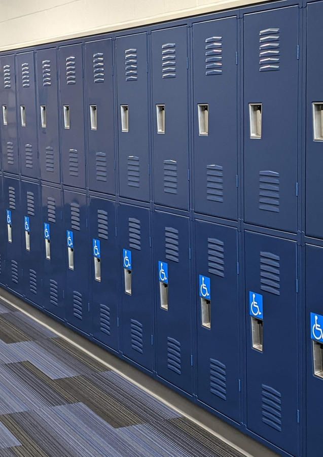 Andover High Lockers