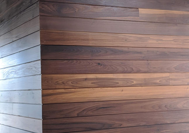 Andover Caps Wood Wall IV
