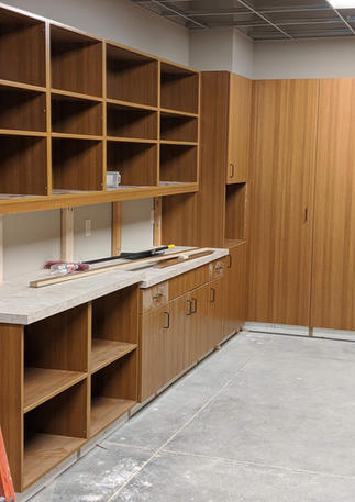 St. Catherine Sienna Cabinets