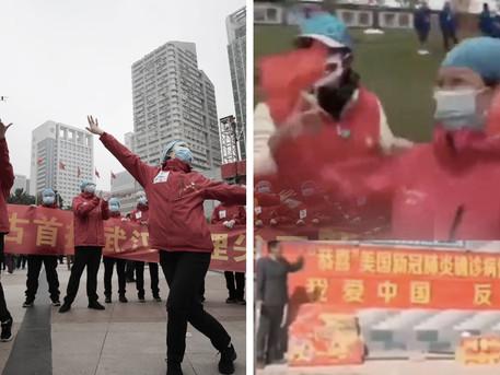 雷神山慶功狂歡,川普再提「中國病毒」,中共的「抗疫外交」遭各國反制。