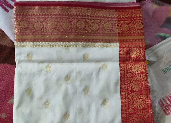 Requirement - White Bengali saree