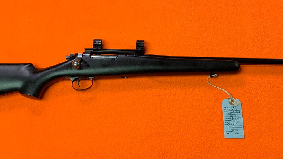 Custom Remington 600 7mm-08