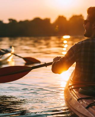 kayaking at pentalago