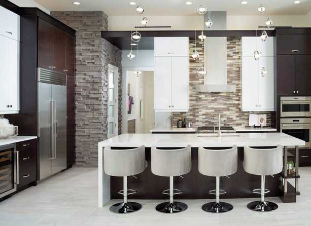 AR Homes kitchen at Pentalago